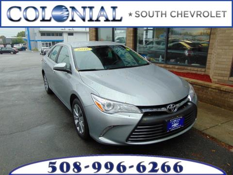 2016 Toyota Camry for sale in Dartmouth, MA