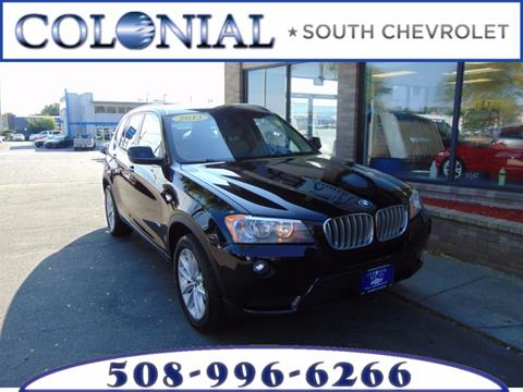 2013 BMW X3 for sale in Dartmouth, MA
