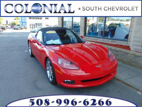 2007 Chevrolet Corvette for sale in Dartmouth, MA