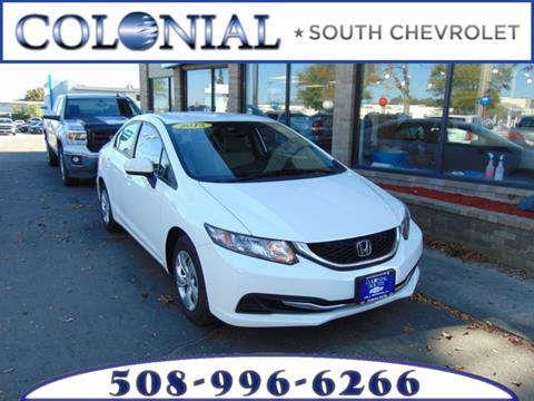 2015 Honda Civic for sale in Dartmouth MA