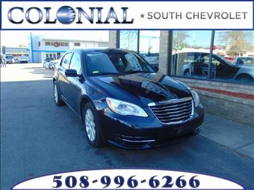 2012 Chrysler 200 for sale in Dartmouth, MA