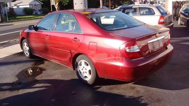 2002 Toyota Camry LE V6 4dr Sedan - Pennsville NJ