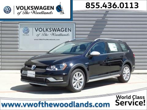 2017 Volkswagen Golf Alltrack for sale in Woodlands, TX