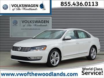 2015 Volkswagen Passat for sale in Woodlands, TX