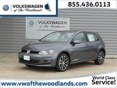 2017 Volkswagen Golf for sale in Woodlands TX
