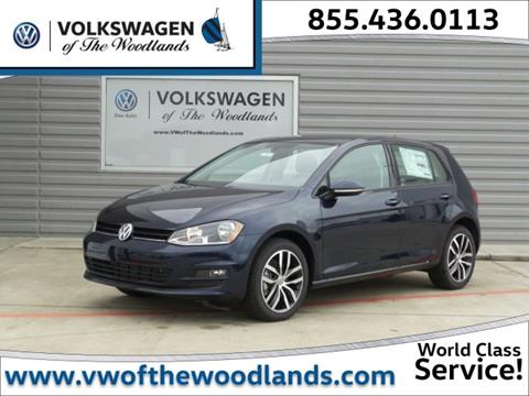2017 Volkswagen Golf for sale in Woodlands TX