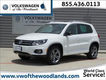 2017 Volkswagen Tiguan for sale in Woodlands, TX