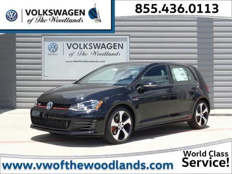 2017 Volkswagen Golf GTI for sale in Woodlands TX