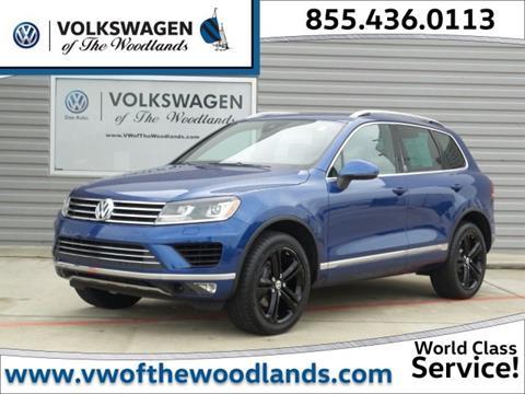 2017 Volkswagen Touareg for sale in Woodlands, TX
