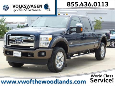 2015 Ford F-350 Super Duty for sale in Woodlands TX