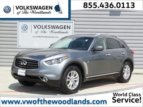2014 Infiniti QX70 for sale in Woodlands TX