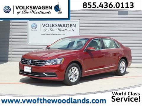2017 Volkswagen Passat for sale in Woodlands TX