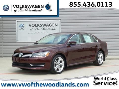 2014 Volkswagen Passat for sale in Woodlands TX