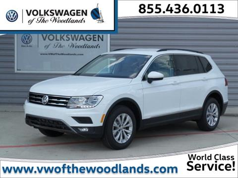 2018 Volkswagen Tiguan for sale in Woodlands, TX