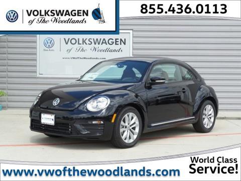 2017 Volkswagen Beetle for sale in Woodlands TX