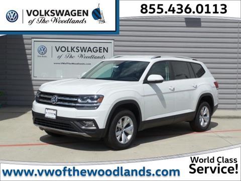 2018 Volkswagen Atlas for sale in Woodlands, TX