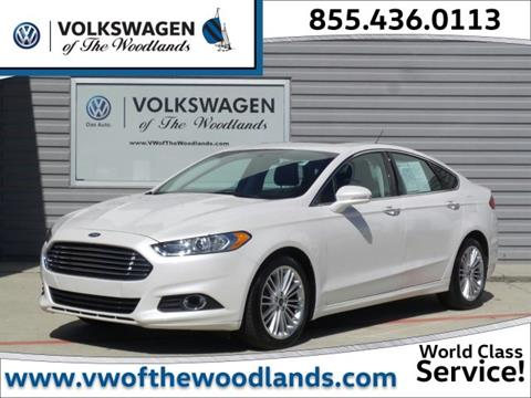 2016 Ford Fusion for sale in Woodlands TX