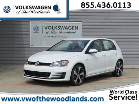 2017 Volkswagen Golf GTI for sale in Woodlands TX