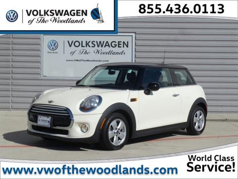 2014 MINI Hardtop for sale in Woodlands TX