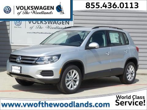 2017 Volkswagen Tiguan for sale in Woodlands TX