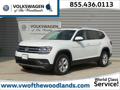2018 Volkswagen Atlas for sale in Woodlands TX