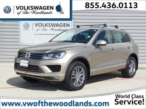 2016 Volkswagen Touareg for sale in Woodlands TX