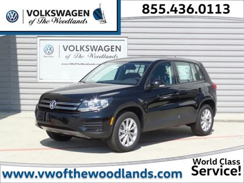 2017 Volkswagen Tiguan for sale in Woodlands TX