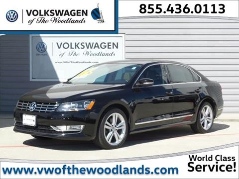 2015 Volkswagen Passat for sale in Woodlands TX