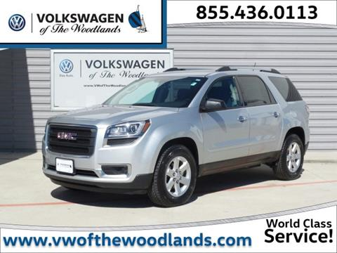 2014 GMC Acadia for sale in Woodlands TX