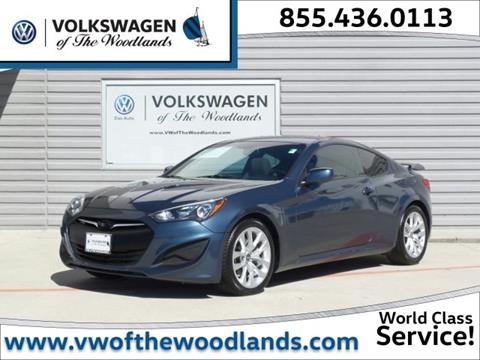 2013 Hyundai Genesis Coupe for sale in Woodlands, TX