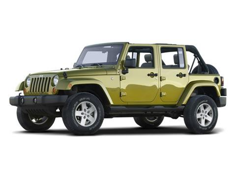 2008 Jeep Wrangler Unlimited for sale in Woodlands TX