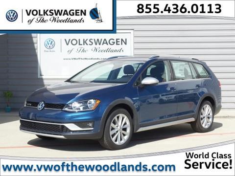 2017 Volkswagen Golf Alltrack for sale in Woodlands TX