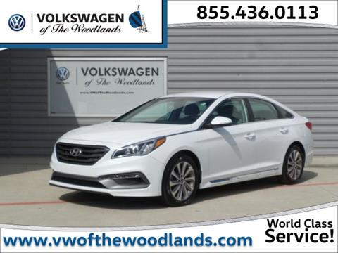 2015 Hyundai Sonata for sale in Woodlands TX