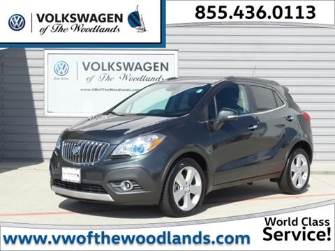 2016 Buick Encore for sale in Woodlands TX