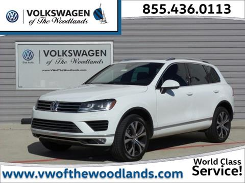 2017 Volkswagen Touareg for sale in Woodlands TX