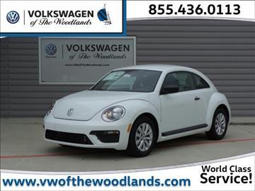 2017 Volkswagen Beetle for sale in Woodlands, TX