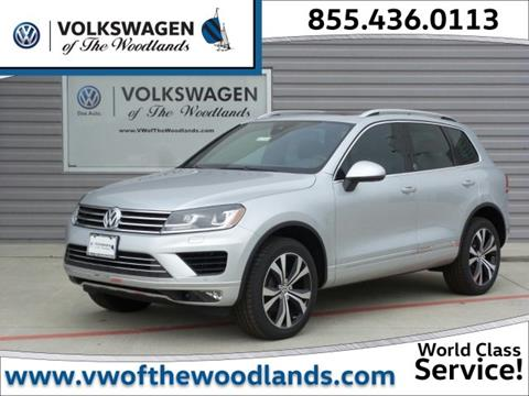 2017 Volkswagen Touareg for sale in Woodlands, TX