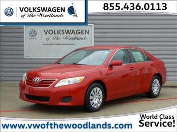 2010 Toyota Camry for sale in Woodlands, TX
