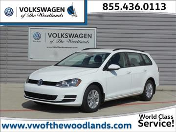 2017 Volkswagen Golf SportWagen for sale in Woodlands, TX