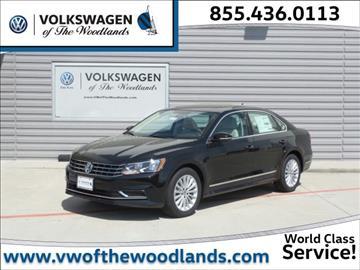 2017 Volkswagen Passat for sale in Woodlands, TX