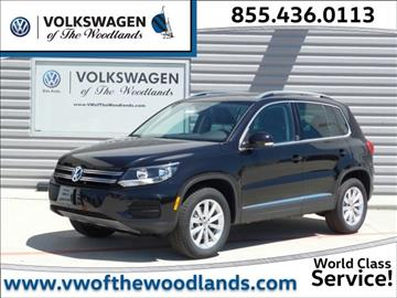 2017 Volkswagen Tiguan for sale in Woodlands, TX