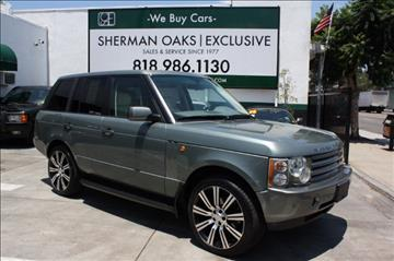 2003 Land Rover Range Rover for sale in Sherman Oaks, CA