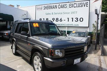 2004 Land Rover Discovery for sale in Sherman Oaks, CA