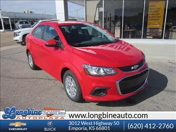 2017 Chevrolet Sonic for sale in Emporia, KS