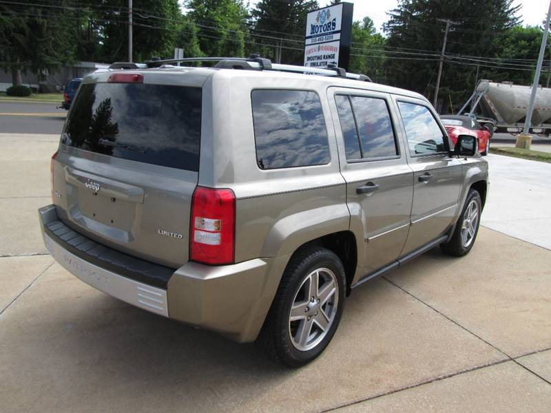 2007 Jeep Patriot 4x4 Limited 4dr SUV - North Canton OH