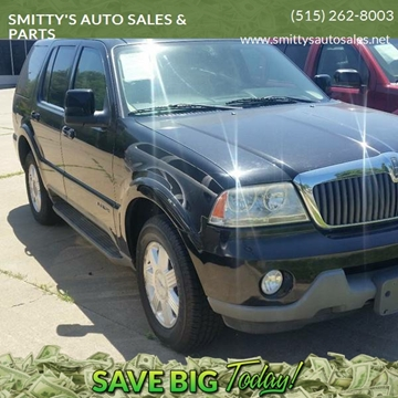 Smittys Auto Sales >> 2003 Lincoln Aviator For Sale In Des Moines Ia