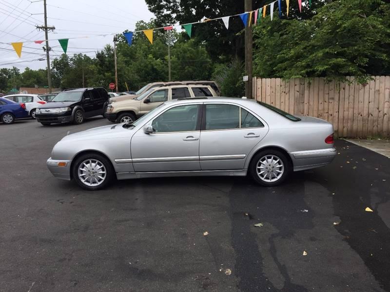 2001 mercedes benz e class e 320 4dr sedan in lexington nc for Mercedes benz lexington