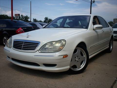2002 Mercedes-Benz S-Class for sale in Arlington, TX