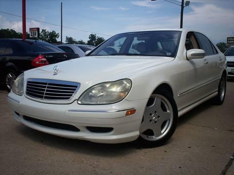 2002 Mercedes-Benz S-Class for sale in Arlington, TX