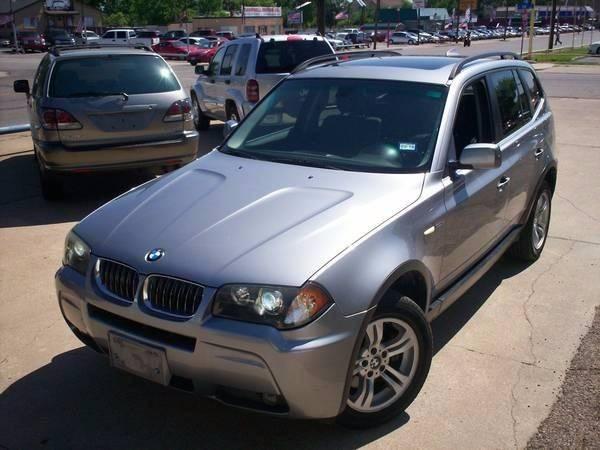2006 BMW X3 AWD 3.0i 4dr SUV - Arlington TX